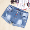 Hot Sales Ladies Shorts Jeans Light Blue Customize Girls' Denim Shorts Jeans Pant