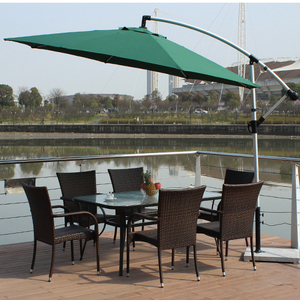 High quality cast Cheap Custom aluminum recycled plywood furniture garden aluminium table garden furniture