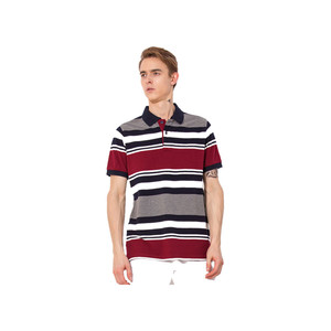 bangladesh clothing garment men color combination collar design polo shirts custom design stripe golf polo shirt peru OEM