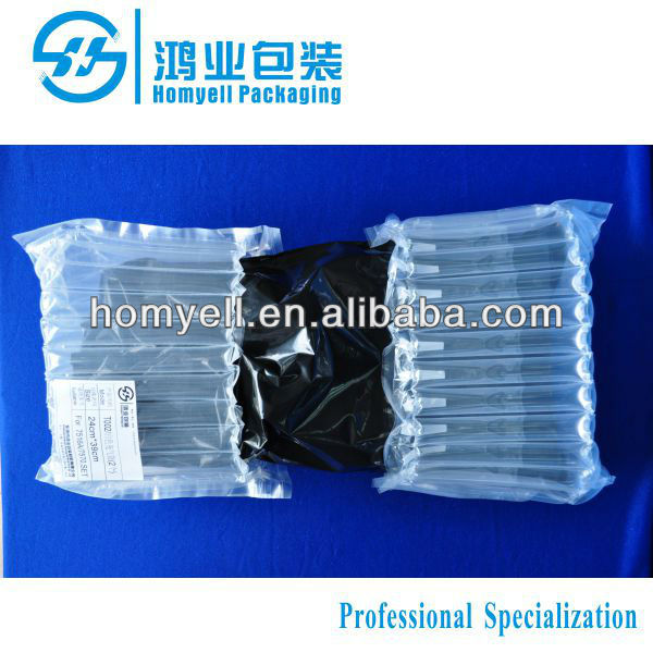 Dongguan factory sale two side cap toner cartridge airbag