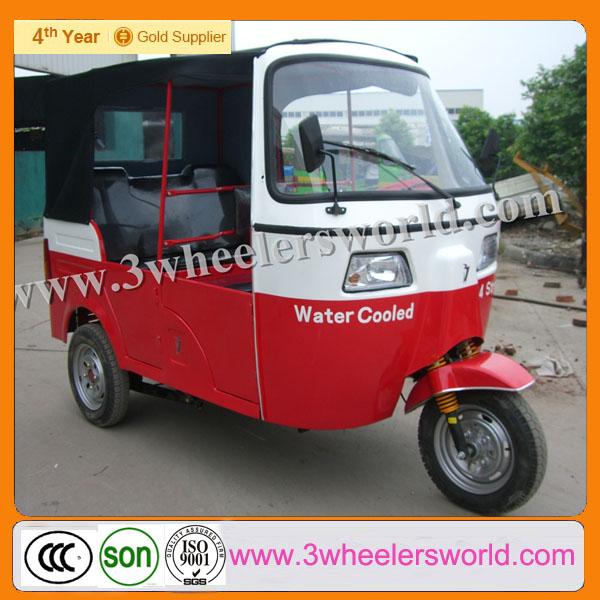 china passenger bajaj with ape piaggio engine/auto rickshaw price