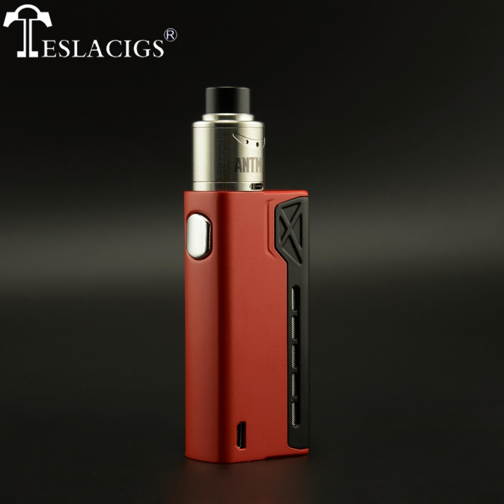 Tesla new products Tesla Terminator 90w match Antman 22 RDA perfectly with high quality and low price!