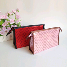 Waterproof Cosmetic Bags Custom Blank Makeup Bags with Mirror and Lights
