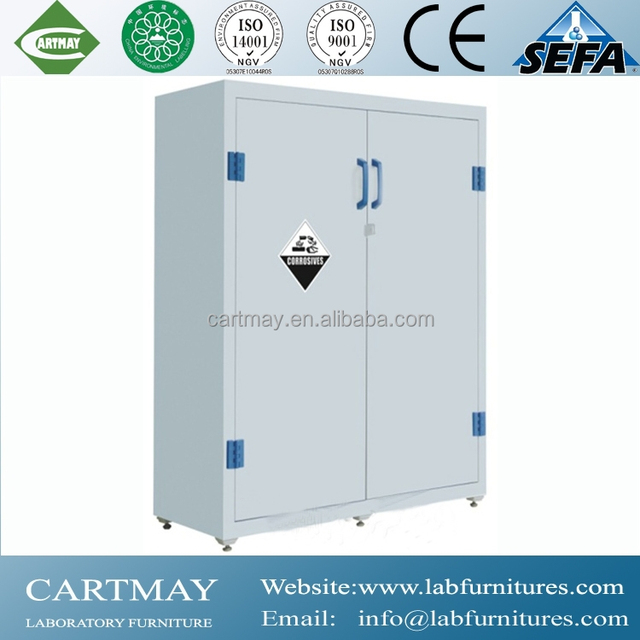 High Quality New Style White Polypropylene Laboratory Stroage Cabinets/pp Storage  Cabinets For Sale