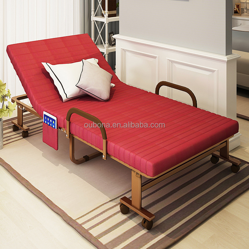 modern style folding bed india rollaway guest bed steel frame with 6 rh alibaba com