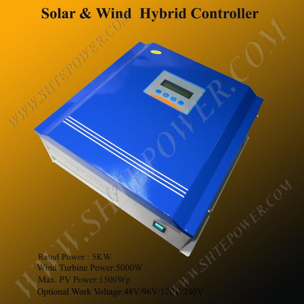 5kw 240v Hybrid Wind Solar Charge Controller 5000w Buy