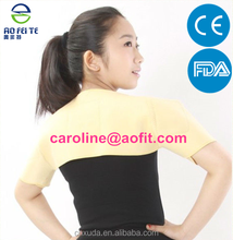sport safety product double shoulder back support brace belt (AFT-H002)
