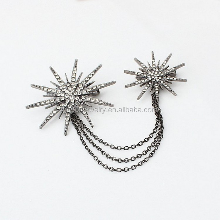 Jewelry & Accessories Dashing 1pc Lotus Leaf Brooches Coat Jacket Bag Pins Badge Brooches Women Jewelry Gifts Dress Accessories