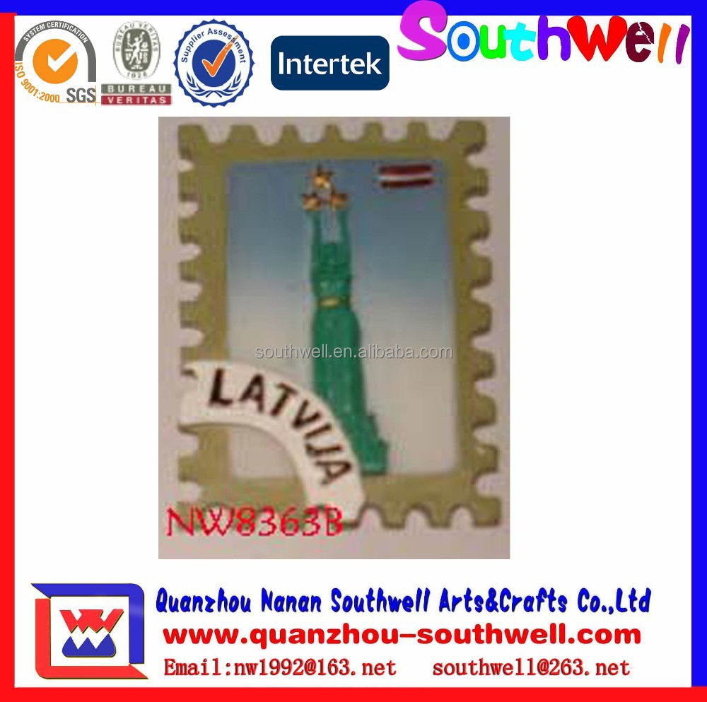 Custom Stamps 3D Fridge Magnet Souvenir