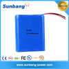 Good quality 3.7v 1s3p beach car battery 18650 6000mah for solar home lighting system