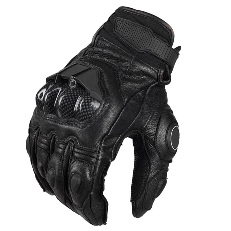 Hot Selling Carbon Gloves Motorbike Gloves Motorcycle Gloves Leather Ride Bike Driving BMX ATV MTB Bicycle Cycling Motorbike