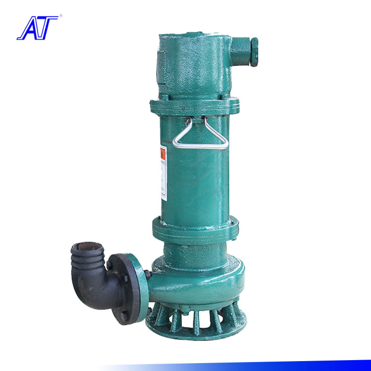industrial sewage pump submersible non clog pump with cutting knife