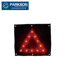 Taiwan Accident Sign Road Safety Equipment 12 LED Light Construction TW-05 Safety Triangle Traffic Sign