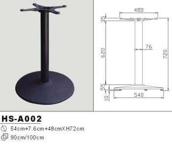 HS A002 Round Table Base Metal Feet Cast Iron Leg For Table Dining Table Buy