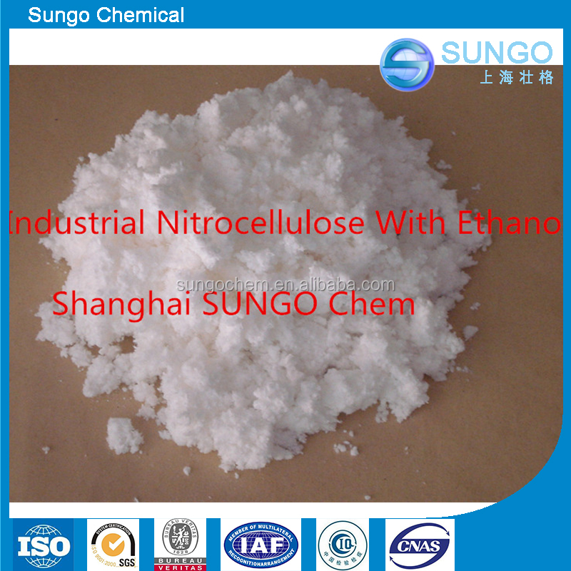 Industrial Nitrocellulose With Ethanol CAS No 9004-70-0