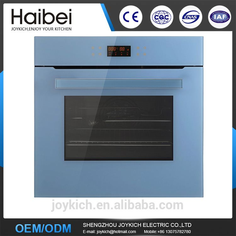 Touch switch built-in pizza oven for kitchen with big capacity table top commercial convection oven