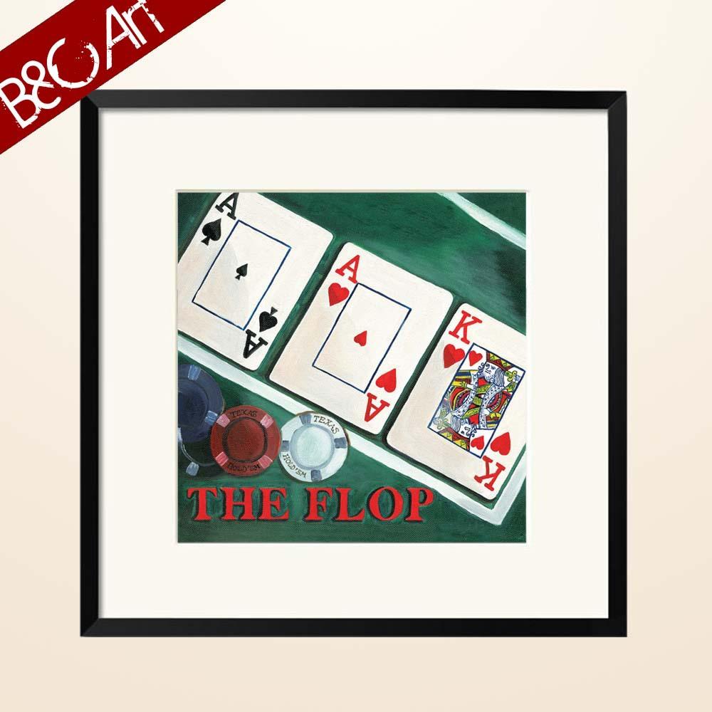 Funny Poker Rey Tarjeta De Juego Ace Arte Pintura Para Casa De Juego ...