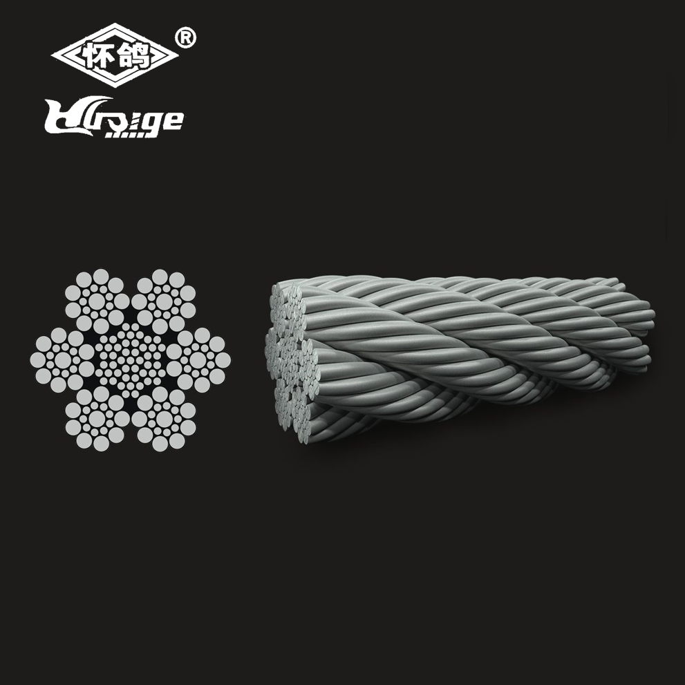 6x19 (9/9/1) Seale - Fiber Core Steel Wire Rope - Buy Seale Wire ...