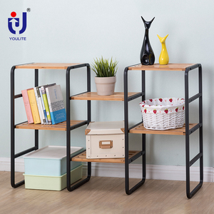 Adjustable kitchen and bathroom 3 shelf storage rack