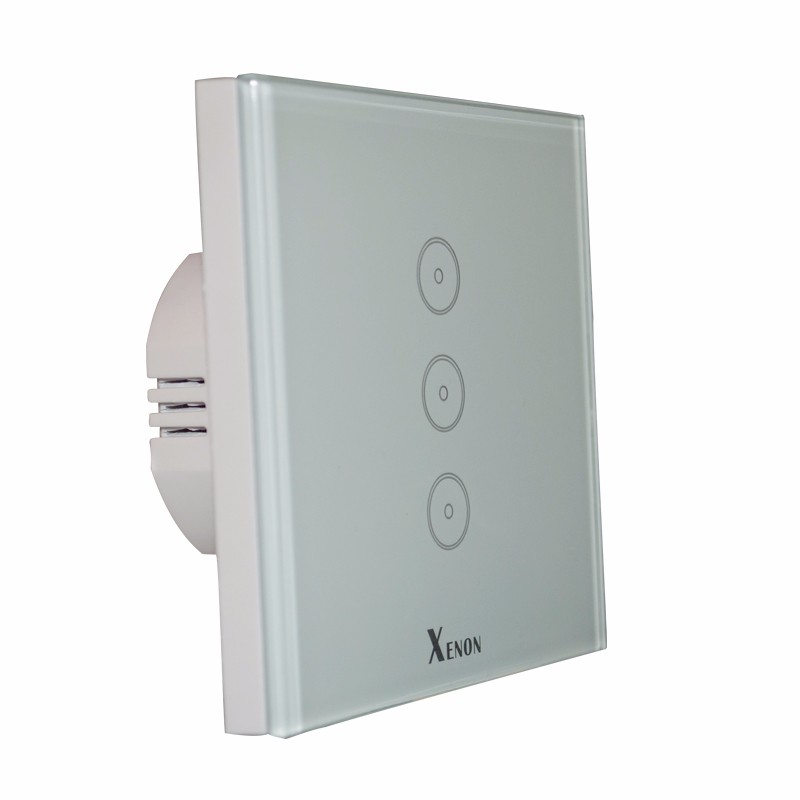 Xenon WiFi wall switch home automation smart home touch screen ...
