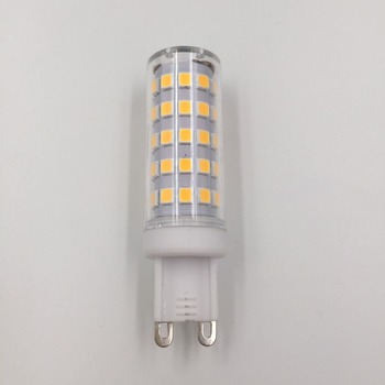 Free sample available epes 6w led light ceramic plastic 700lm g9 led bulb G9TC-004