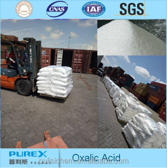 Hot sales anhydrous h2c2o4.2h2o cleaner solubility Oxalic Acid 99.6%
