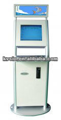 Coin operated Multifunction Computer internet Retail Mall Kiosk with Telephone, Camera