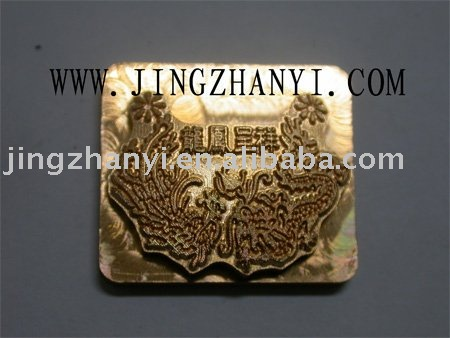steel mould for dragon pendant making