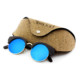 Wholesale Bamboo Sunglasses Thailand Polarized 100% UV Plain Sunglasses