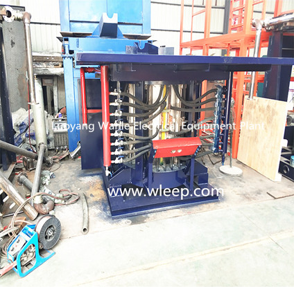 1T Steel Shell IF Induction Steel Melting Furnace