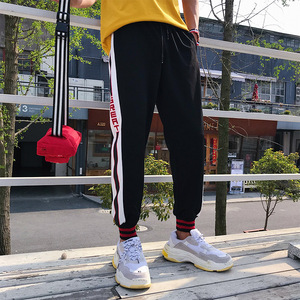 Wholesale 2018 hot selling casual gym jogging sports trousers sweat pants