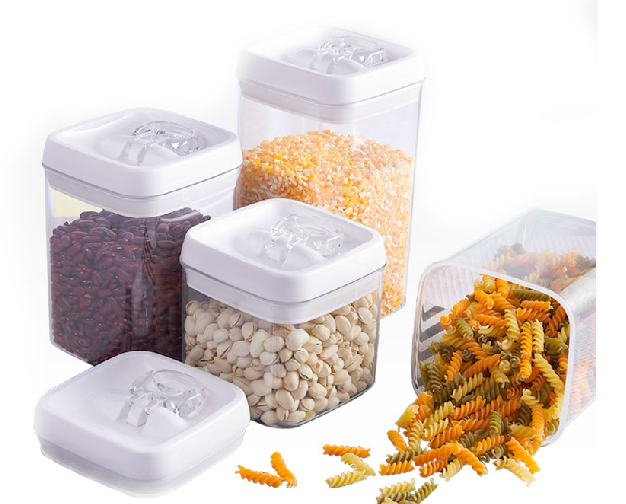 Christmas Cracker Storage Container Plastic Food Containers
