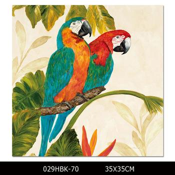 Dafen Boyama üretici Teklif Yüksek Kalite Baskı Papağan Için Renkli
