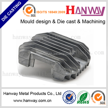 Anodizing aluminum die casting heat sink radiator automobile spare parts China