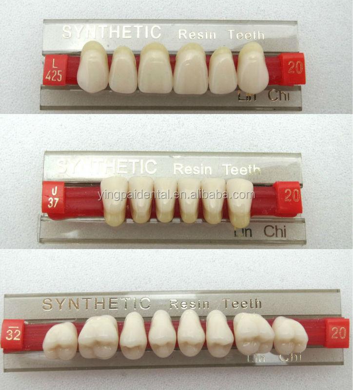 Dental Acrylic Teeth Shades For Dentures
