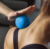 Relieve muscle soreness peanut solid silicone massage ball