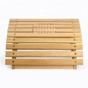 Natural Unique Modern High Quality Cheap Soil Bamboo Footrest Stool Under Desk Footrest With Massage Rollers For Office Home Buy Bamboo Foot Stool Wooden Foot Stool Wooden Desk Footrest Product On Alibaba Com