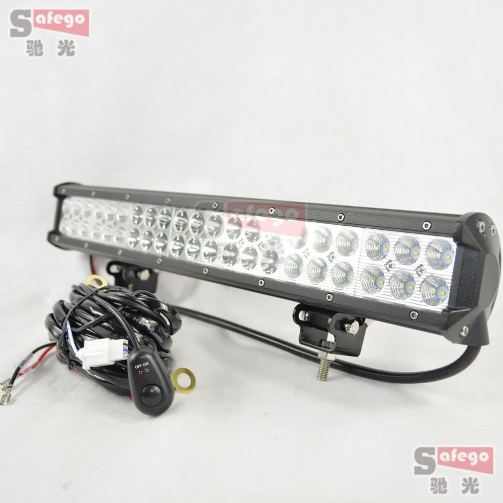 1pcs led offroad lights 126w led bar working led light. Black Bedroom Furniture Sets. Home Design Ideas