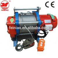 KCD multifunctional electric hoist Single Phase 220V Small Electric Winch Hoist