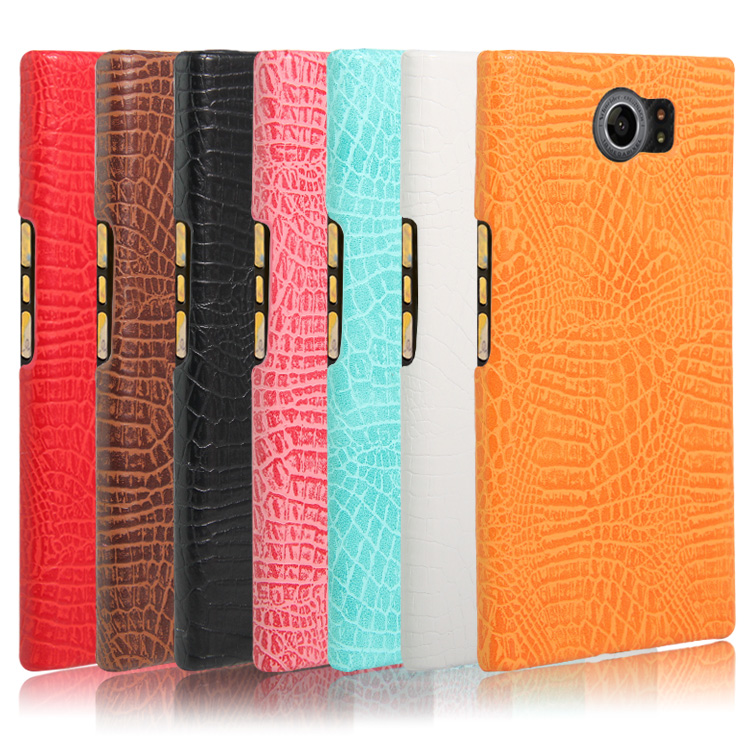 official photos b412e 64198 2017 Durable Pc Leather Pu Crocodile Texture Phone Case For Blackberry Priv  Case Cover - Buy Durable Pc Phone Case For Blackberry Priv,Leather Pu ...