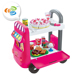 multifunction bus cart toys 40 PCS kitchen food play set for children