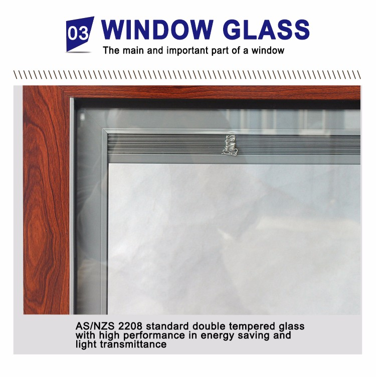 Superwu safety windows and doors Australian as2047 aluminium glass window pane