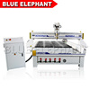 High speed China cnc copy wood carving router machine with rotary device for Y axis