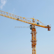 QTP series 4 to 32t max load 30 to 80m jib length self erecting flat head topless not used tower crane