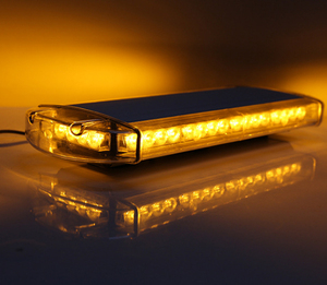 Emergency Vehicles 12v LED Emergency Light Amber Red Blue 3 watt Police Lights Truck Strobe LED Flashing Warning Light
