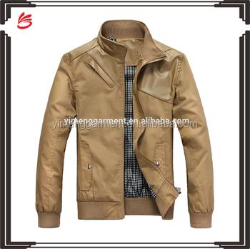 Wholesale Custom Latest Design Leather Jacket For Men 2016 - Buy ...