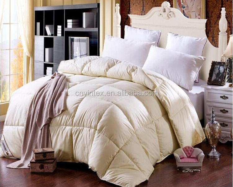 Super Soft 100% cotton shell Duck Down Quilt Comforter