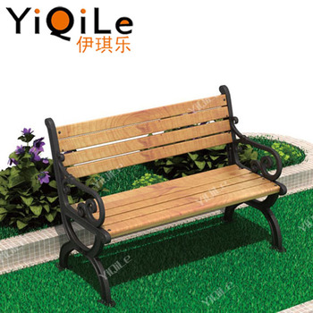 High Quality Used Park Benches Hot Sale Composite Garden Benches Top
