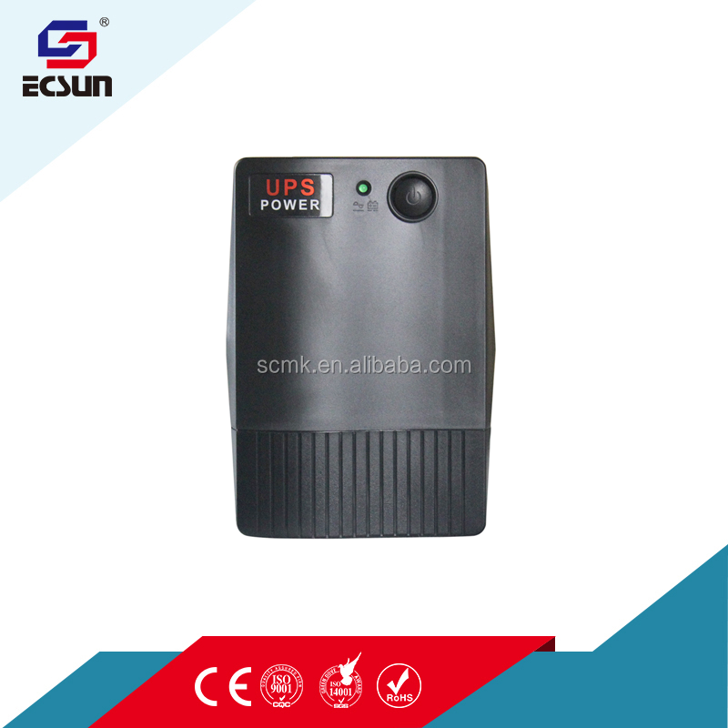 500va 300w 220v 110v ac 5v 12v 24v 9ah ups battery dc off-line Ups with Overload And Short-circuit