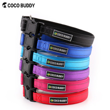 Pet Soft & Comfortable Neoprene padded Dog Collars with Reflective Wire Supplier